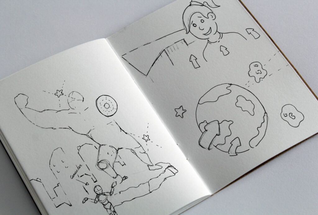 sketchbook animatie video